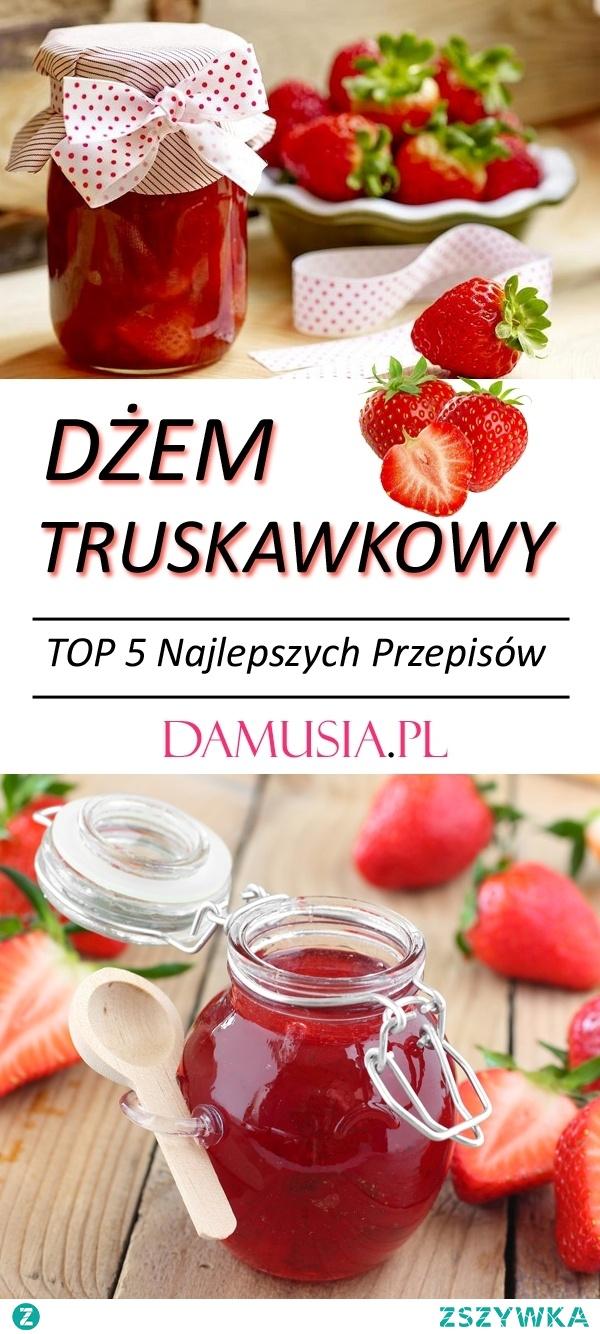 TOP 5 Najlepszych Przepisów na Domowy Dżem Truskawkowy