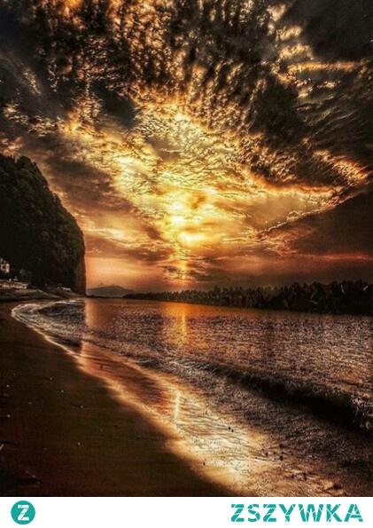 Zachwycający zachód słońca ♥️