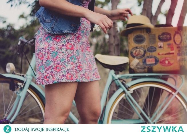 Rower czy hulajnoga? Jako tradycjonalistka stawiam jednak na to pierwsze ;)