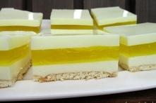 Ciasto cytrynowe bez pieczenia