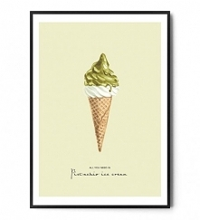Plakat PISTACHIO ICE CREAM ...