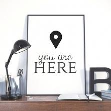 Plakat do przedpokoju / YOU...