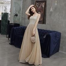 Piękne Szampan Sukienki Wie...
