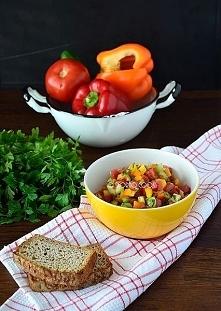 Sałatka izraelska / Israeli salad