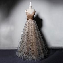 Piękne Szampan Sukienki Na ...