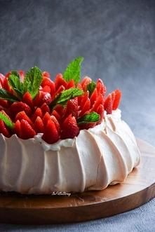 Beza Pavlova - tort bezowy ...