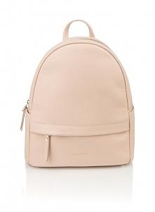 Skórzany plecak różowy Oliv...