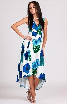 Roco asymetryczna sukienka ...