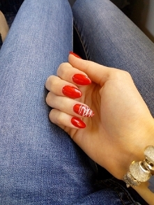 Red nails ❤️