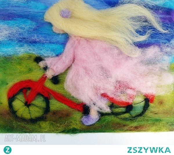 Pod wiatr. Obraz z kolekcji Die wunderschöne Kindheit