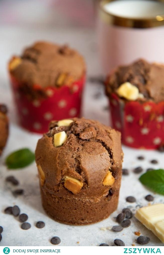 Proste muffinki czekoladowe
