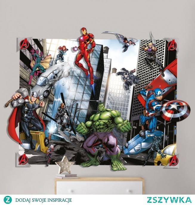Psi Patrol, Avengers, Strażak Sam, Spider-Man, Minnie, Princess, Jednorożec, czy Kubuś Puchatek? Ulubieni bohaterowie z bajek i komiksów Twoich dzieci na mega tapetach ściennych – również w wersjach 3D!
