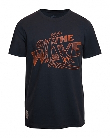 t-shirt ON THE WAVE GRAPHITE