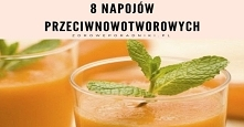 8 napojów przeciwnowotworowych