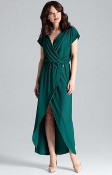 Lenitif długa sukienka ziel...