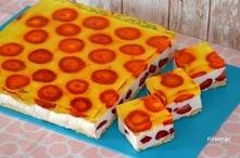 Doskonałe na upały ciasto z...