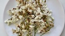 Smażone kwiaty akacji, pysz...