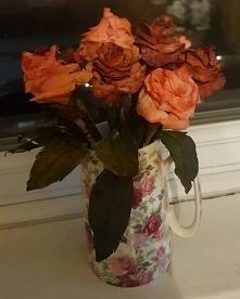 Róże z filtrow do kawy sobi...