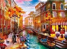 Kolorowa Wenecja, piękne Wł...