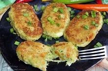 Kotlety brokułowe z mozzarellą