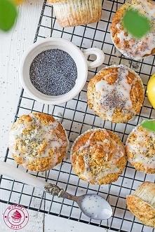 Cytrynowe muffinki z makiem - Najlepsze przepisy | Blog kulinarny - Wypieki B...