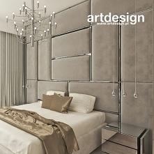 Aranżacja wymarzonej sypialni z tapicerowaną ścianą za łóżkiem | FORBIDDEN FR...