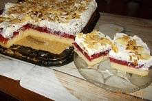 Malinowa chmurka -ciasto znane ale każda gospodyni piecze go inaczej