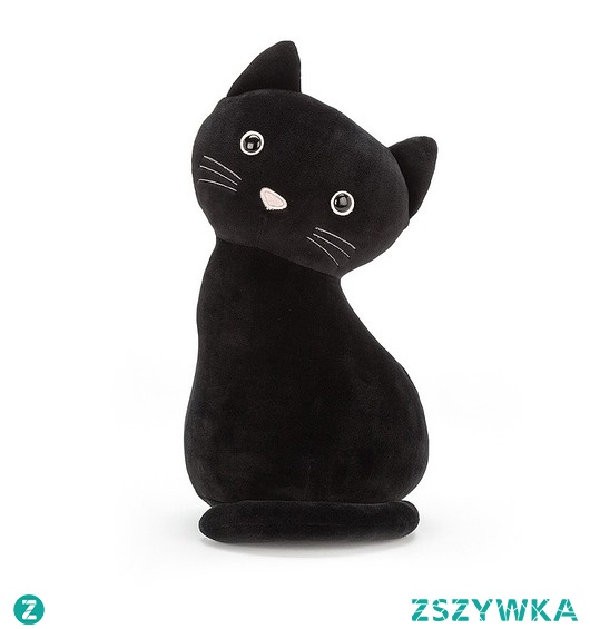 Maskotka Przytulanka Kot Blacky 34 cm
