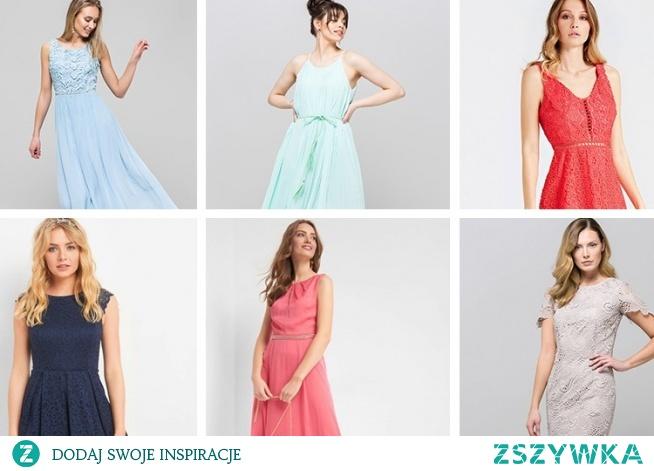 Przegląd sukienek na wesele 2019. Aż 36 propozycji z koronki, w kwiaty i plus size <3