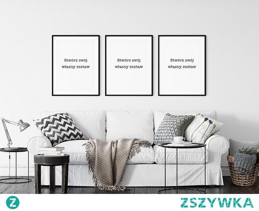 Zestaw plakatów - Stwórz swój własny zestaw