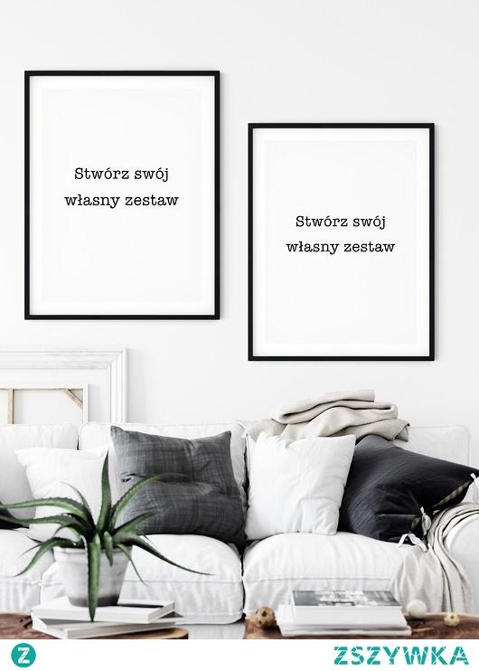 Zestaw 2 plakatów - Stwórz swój własny zestaw