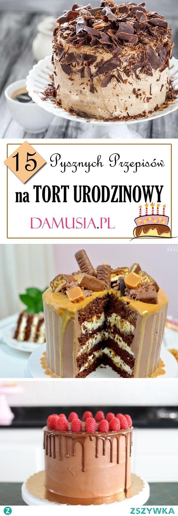 TOP 15 Pysznych Przepisów na Tort Urodzinowy