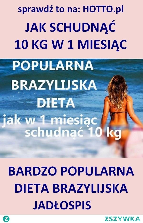 dieta brazylijska czyli jak schudnąć 10 kg. Bogata w warzywa i owoce, dzięki czemu zaspokaja zapotrzebowanie na witaminy i minerały a dodatkowo jest pożywna. CAŁY JADŁOSPIS. Nie ma uczucia głodu a mimo to się chudnie. Dieta popularna w krajach Ameryki Południowej