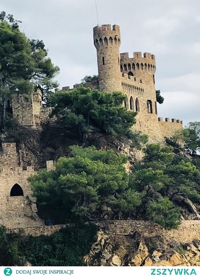 Zamek w Lloret de Mar