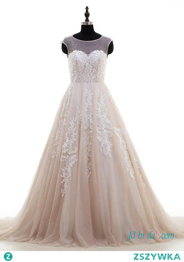 Koronkowa suknia z koronki tiulowej księżniczki #weddingdress Model: H0667 (Darmowa wysyłka na cały świat) Wyszukaj w witrynie numer modelu, link w bio