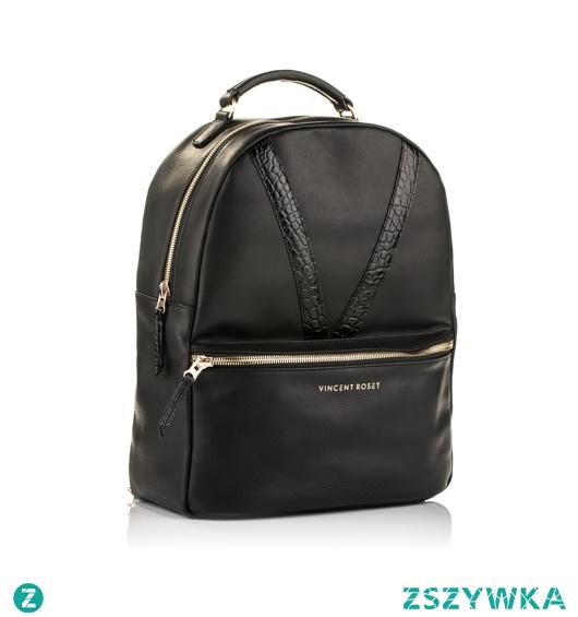 VINCENT ROSET leather backpack
