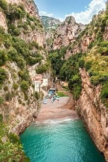 Wybrzeże Amalfitańskie, piękne miejsce