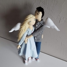 Całkiem duże aniołki od pan...