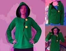 bluza Zielony ludek