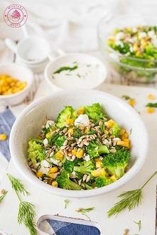 Sałatka z brokułów i fety - Najlepsze przepisy | Blog kulinarny - Wypieki Beaty