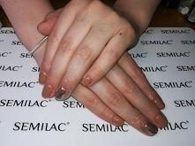 Semilac 139, mirror effect ...