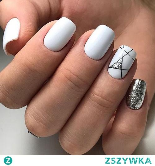 TOP pomysły na białe paznokcie