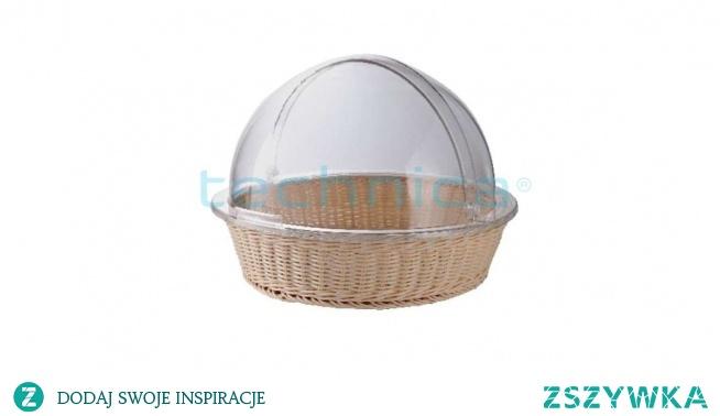 Pokrywa typu Roll-Top do koszyka, przydatne zwłaszcza na piknikach