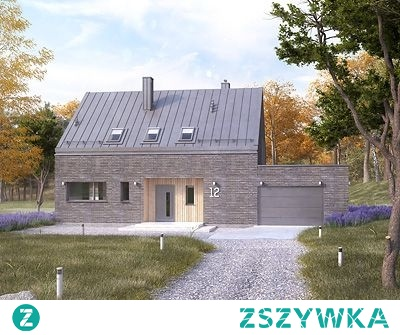 Nasz nowy dom, jakby co, mąż wybierał projekt:)