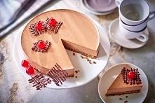 Królewski sernik czekoladowy