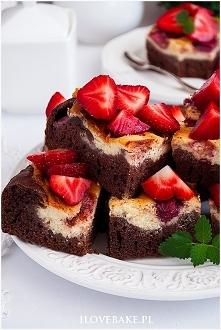 Ciasto izaura z truskawkami