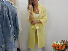 Sweter Tess w soczystym cytrynowym kolorze ;-) solobutik.pl