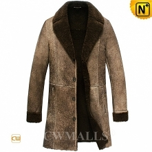Men Sheepskin Coat | Vintag...