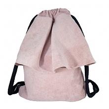 Plecak różowa falbanka