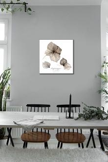 Kwiat hortensji print { 50x...